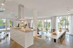 Vilket hus! – Oväntad detalj i vardagsrummet sätter stilen - Sköna hem