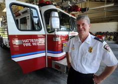 Hanging up his helmet: Hattiesburg Fire Chief David Webster retires after more than 25 years as firefighter