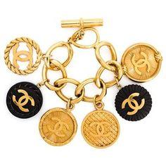 Chanel Vintage Charm Bracelet