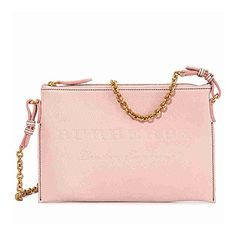 6d6e0a669936 Burberry Leather Clutch Bag- Pale Ash Rose. A Burberry grip sack styled in  calf