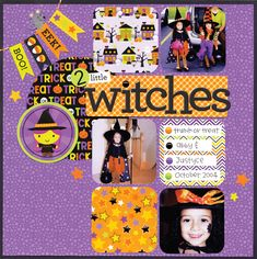 Ghouls & Goodies Collection from Doodlebug Design - Scrapbook.com