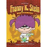 Franny K. Stein is a mad scientist who prefers all things spooky and creepy, but when she has trouble making friends at her new school she experiments with fitting in--which works until a monster erupts from the trashcan.
