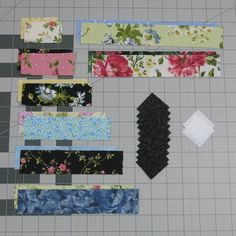 Free Pattern – Streak of Lightning Quilt Block Quilt Square Patterns, Scrap Quilt Patterns, Jelly Roll Quilt Patterns, Beginner Quilt Patterns, Quilting For Beginners, Quilting Tutorials, Pattern Blocks, Quilting Projects, Quilting Tips