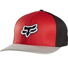 Gorra - FOX - Reminder Flexfit - Rojo Negro Gris ff124e3ee45
