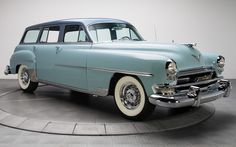 1955 chrysler station wagon | 1954 Chrysler New Yorker Town And Country Wagon