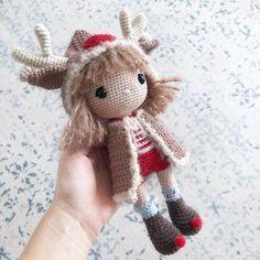 Crochet Doll Pattern, Crochet Patterns Amigurumi, Amigurumi Doll, Crochet Dolls, Noel Christmas, Christmas Gifts, Mohair Yarn, Doll Patterns, Crochet Projects