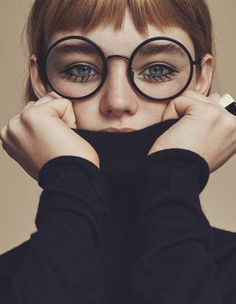 Willow Hand by Emma Tempest #inspiration #photography<<glasses remind me of harry potter