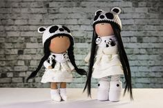 Hey, I found this really awesome Etsy listing at https://www.etsy.com/listing/448659556/doll-panda-bo-tilda-doll-textile-doll