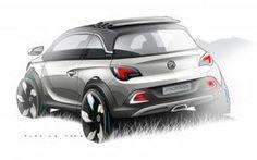 Vauxhall Adam Rocks concept teaser