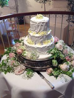 April 2014 Burford Garden Company, Wedding Cakes, Floral Wreath, Wreaths, Weddings, Handmade, Food, Home Decor, Wedding Gown Cakes