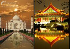 Varázslatos tájak #TinTatu #Fotokonyv #VarazslatosTajak #Mozaik Taj Mahal, Building, Travel, Ink, Viajes, Buildings, Destinations, Traveling, Trips