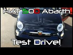 ▶ FIAT 500 Abarth Test Drive(s)! - YouTube