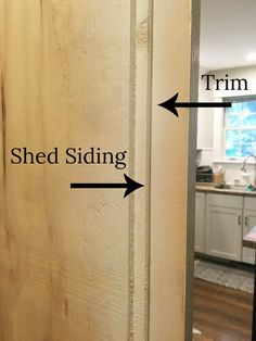 Easy tutorial for how to build an inexpensive barn door using a material you've probably never thought of! Diy Barn Door Plans, Diy Sliding Barn Door, Diy Door, Sliding Doors, Making Barn Doors, Building A Barn Door, Cheap Barn Doors, Barnwood Doors, Indoor Outdoor Kitchen