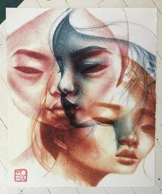 Watercolor Paper, Portrait, Artwork, Artist, Paintings, Instagram, Work Of Art, Arches Watercolor Paper, Headshot Photography