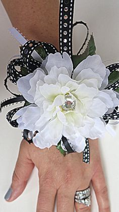 Faux Corsage by WeddingsAndWreaths on Etsy. Weddings, Prom, Anniversary, Homecoming, First Communion, Graduation, Birthday, Special Occasion, Celebration.