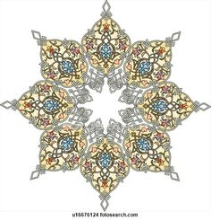 Arabesque Designs (page 4) - stock illustration clip art. Buy royalty free clipart images on disc by Lushpix Illustration.