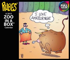 Rubes Zoo In A Box 2013 Boxed Calendar LMB234 0013 The single panel cartoon sensation Rubes is syndicated to more than 400 media outlets daily Brighten your room or office with creator Leigh Rubin's award winning compilations Size 6 1 8 x 5