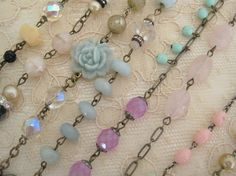 Rows of Necklaces by andrea singarella, via Flickr