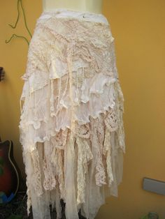 vintage inspired extra shabby cotton wrap by wildskin on Etsy 115.00
