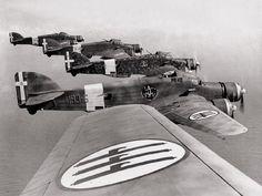 Italian SM.79 Sparviero bombers over North Africa, 1940-1942