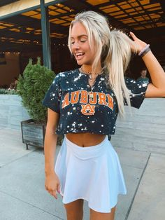 auburn game day shirt Best image for game day DIY shirt for your taste … – Creative Dress Of College Game Day College Shirts, College Outfits, College Apparel, Auburn Game, Auburn Football Game, College Football, Summer Outfits, Cute Outfits, Tumblr Outfits
