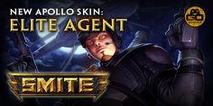 Participa en el sorteo de 2 códigos de SMITE para Apollo y su aspecto Elite Agent