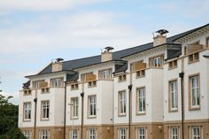 CUPA 3 'Heavy' natural slate for Cramond Gate development | #CUPA #naturalslate #architecture #design #roofing