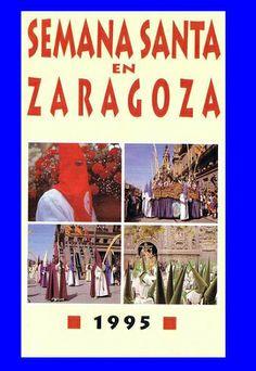 Cartel Semana Santa Zaragoza 1995