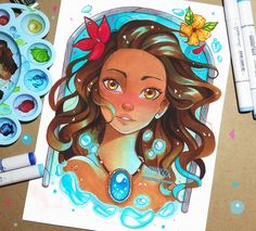 +Moana - How Far I'll Go+ by larienne.deviantart.com on @DeviantArt