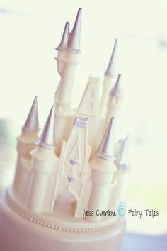 Lighted Castle Coach Cake Topper Wedding Fairytale Dreams A