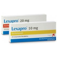 Lexapro (escitalopram) is an antidepressant belonging to a group of drugs called selective serotonin reuptake inhibitors (SSRIs). Escitalopram affects chemicals in the brain that may become unbalanced and cause depression or anxiety.