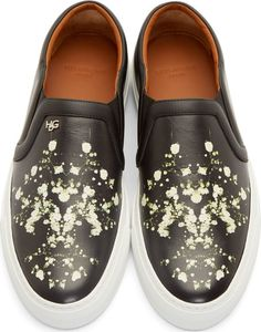 Givenchy Black Babybreath Skate Sneakers
