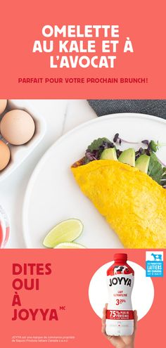 Cut the carbs when you add this protein-rich kale and avocado omelette recipe to your brunch plans this weekend. Your friends will leave feeling energized ! Proper Nutrition, Diet And Nutrition, Salmon Nutrition, Blueberries Nutrition, Quinoa Nutrition, Potato Nutrition, Nutrition Jobs, Nutrition Products, Nutrition Program