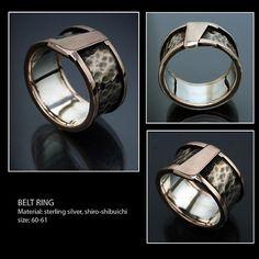 Belt Ring / J.Trimay - SAShE.sk Rings For Men, Wedding Rings, Belt, Engagement Rings, Earrings, Jewelry, Belts, Ear Rings, Jewellery Making