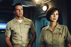 Jag Image, Cathrine Bell, David James Elliott, School Tv, Army Wives, Navy Sailor, Green Beret, Men In Uniform, Hallmark Channel