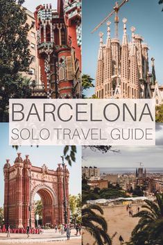 Barcelona solo travel guide to the best things to do in Barcelona Catalonia Spain on your own. Travelling alone? here's a quick guide to the Catalonian capital as a solo traveller, what to do, see, and eat!