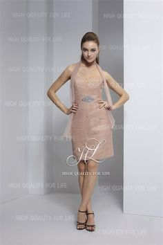 robe de cocktail, robe de cocktail, robe de cocktail, robe de cocktail  http://www.robesoire.fr/par-forme/685-a-line-champagne-sweetheart-knee-length-chiffon-evening-dress-pmp14.html#