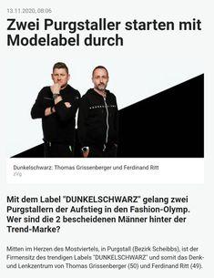 """Mostviertler """"dunkelschwarze"""" Modemacher Fashion Styles, Darkness, Black"""