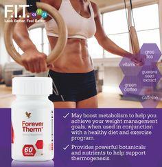 A Forever Therm™-et arra tervezték, hogy felgyorsítsa azokat az erőfeszítéseket, amelyekkel az egészséges, csökkentett kalóriájú étrend és az edzések közötti összhangot megtalálva eléred kitűzött céljaidat. Az egyedi növényi összetevőknek és tápanyagoknak köszönhetően megkoronázhatod erőfeszítéseidet. http://360000339313.fbo.foreverliving.com/page/products/all-products/3-weight-loss/463/hun/hu Segítsünk? gaboka@flp.com Vedd meg: https://www.flpshop.hu/customers/recommend/load?id=ZmxwXzk3NzE=