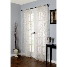 You'll love the Alois Rod Pocket Single Curtain Panel at Wayfair - Great Deals on all Décor  products with Free Shipping on most stuff, even the big stuff.