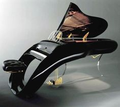 Shimmel Pegasus Grand Piano. That is fabulous. WOW