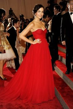 Camilla Belle......stunning wow i love the red