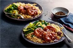 Have dinner ready in minutes with this easy prawn stir-fry recipe with spicy chilli sauce and crunchy pak choi. Find more prawn recipes at Tesco Real Food. Stir Fry Recipes, Pork Recipes, New Recipes, Dinner Recipes, Healthy Recipes, Healthy Dinners, Shrimp Recipes, Prawn Stir Fry, Sprouting Sweet Potatoes
