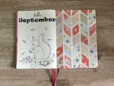September Hello september Bullet journal ideas