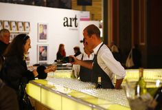 Melbourne Arts Fair, Chandon bar, catering by Bay Leaf Catering