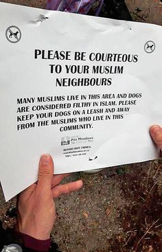 THIS IS NOT ISLAM! I am tired of people coming into our country and telling us what to do. You come to America for all different reasons, and if you don't like our ways, no one here is stopping you from returning to your own country!