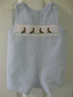 Blue Green Red Plaid Cute! 12 Month Gentle Ragsland Boys Romper Shortall Jonjon