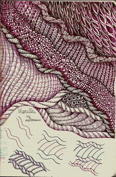 tangle patterns | Manilla-tangle pattern