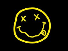 Nirvana Smile Art Print by Greg Ross - X-Small Rock Poster, Poster Wall, Photo Wall Collage, Picture Wall, Nirvana Logo, Nirvana Lyrics, Punk Patches, Branding Tools, Band Wallpapers