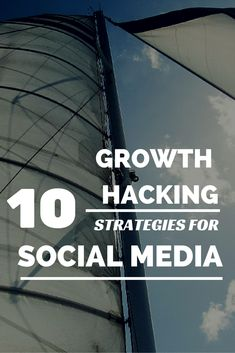 What are the best practices for growing your audience on social media? Take a look at ten winning growth hacking techniques you can start implementing today. Online Marketing, Social Media Marketing, Digital Marketing, Affiliate Marketing, Social Media Trends, Social Media Site, Google Plus, Growth Hacking, Marketing Techniques
